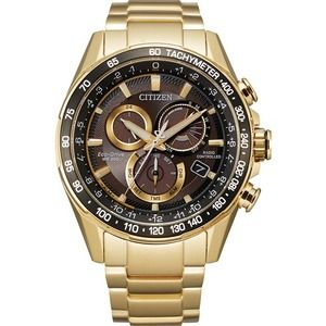 Men's Citizen Eco-Drive Chronograph NWT